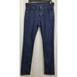 Sisley Dark Wash Skinny Jeans